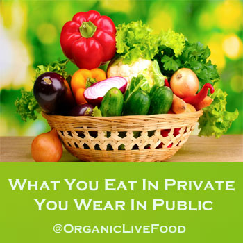 Organic Live Food/Natural ways to neutralize your body odor
