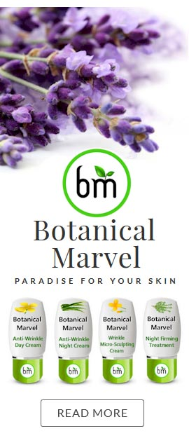 Botanical Skincare Organic Ingredients