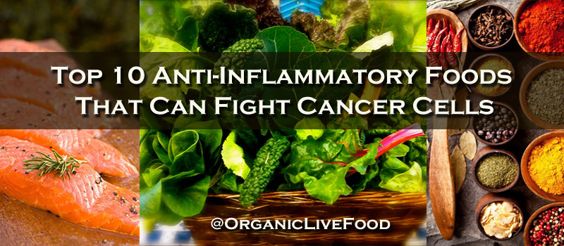Organic Live Food/Anti-inflammatory foods that can fight